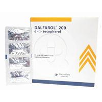 Dalfarol Kapsul 200 IU (1 Strip @ 4 Kapsul)