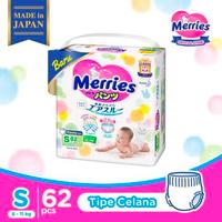 Merries Premium Popok Bayi Celana S 62