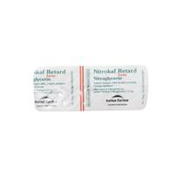 Nitrokaf Retard Kapsul 5 mg (1 Strip @ 10 Kapsul)