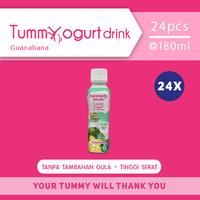 Heavenly Blush Tummy Yogurt Drink Sugar Free Soursop 180 ml (24 Pcs)