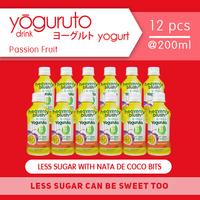 Heavenly Blush Yoguruto Botol Passionfruit 200 ml (12 Pcs)