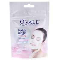 Ovale Facial Mask Bedak Dingin Mutiara Sachet 15 g