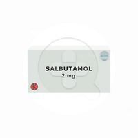 Salbutamol Tablet 2 mg (1 Strip @ 10 Tablet)