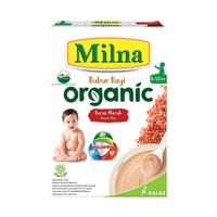 Milna Bubur Organik 6 Bulan Beras Merah 120 g