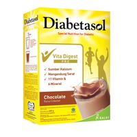 Diabetasol Susu Rasa Chocolate 600 g