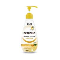 BETADINE Body Wash Antibacterial Manuka Honey Bottle 500 mL