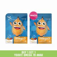 Buy 1 Get 1 Youvit Omega 3 7D Anak