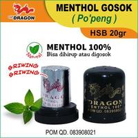 Cap Dragon Menthol HAP HSB 20 g