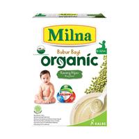 Milna Bubur Organik 6 Bulan Kacang Hijau 120 g