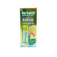 Herbakof Sirup 15 mL (1 Box @ 5 Sachet)