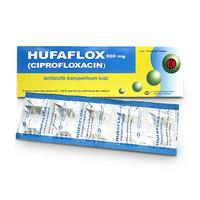 Hufaflox Kaplet 500 mg (1 Strip @ 10 Kaplet)