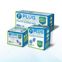 PLUG Nasal Filter Paket C 3 Box (6 Pack @ 2 Pcs, 6 Pack @ 4 Pcs, & 6 Pack x 8 Pcs)