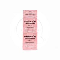 Farmoten Tablet 25 mg (1 Strip @ 10 Tablet)