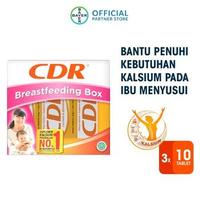 CDR Breastfeeding Box Rasa Jeruk Mandarin (3 Tube @ 10 Tablet)