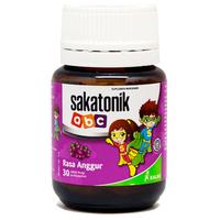 Sakatonik ABC Rasa Anggur Tablet (1 Botol @ 30 Tablet Kunyah)
