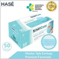 Sensycare Earloop Premium Facemask 3ply (1 Box @ 50 Pcs)