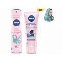NIVEA Kemilau Biru Hijab Edition - Get Blue Alkhayal Scarf
