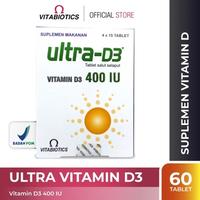Vitabiotics Ultra Vitamin D3 Tablet (60 Tablet)