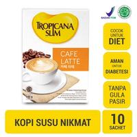 Tropicana Slim Cafe Latte (1 Box @ 10 Sachet)