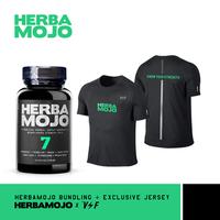 Herbamojo Kapsul (1 Botol @ 60 Kapsul) + Jersey VoltandFast (XL)