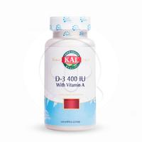 KAL D3 400 IU 100's Softgell