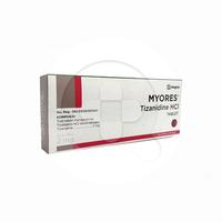 Myores Tablet 2 mg (1 Strip @ 10 Tablet)