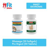 Lifepharm Glomega 30 Softgel + Enervita Pro Digest 30 Tablet