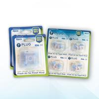 PLUG Nasal Filter Mix B 3 Pack (2 Pack @ 2 Pcs & 1 Pack @ 4 Pcs)