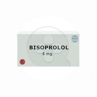 Bisoprolol Tablet 5 mg (1 Strip @ 10 Tablet)
