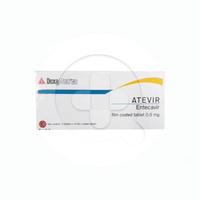 Atevir Tablet 0,5 mg (3 Strip @ 10 Tablet)