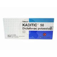 Kaditic Tablet 50 mg (1 Strip @ 10 Tablet)
