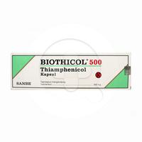 Biothicol Kapsul 500 mg (1 Strip @ 10 Kapsul)