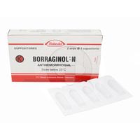 Borraginol-N Suppositoria (2 Strip @ 5 Suppositoria)