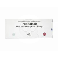 Irbesartan Indofarma Tablet 150 mg (5 Strip @ 10 Tablet)