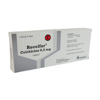 Recolfar Tablet 0,5 mg (3 Strip @ 10 Tablet)