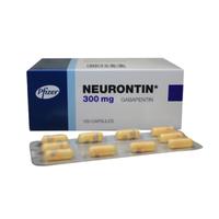 Neurontin Kapsul 300 mg (1 Strip @ 10 Kapsul)