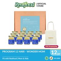 Realfood Wonder Mom Fully Concentrated Bird's Nest dengan Asam Folat Free Shopping Bag