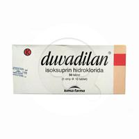 Duvadilan Tablet 20 mg (1 Strip @ 10 Tablet)