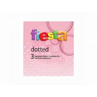 Fiesta Kondom Dotted (3 Pcs)