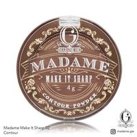 Madame Gie Madame Make It Sharp 02 - Espresso Femme