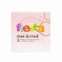 Fiesta Kondom Max Dotted (1 Box @ 3 Pcs)