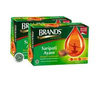 Twin Pack Brand's Saripati Ayam dengan Cordyceps 70 g (12 Botol)