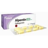 Alpentin Tablet 300 mg (1 Strip @ 10 Tablet)