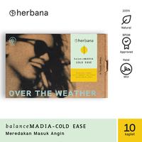 Herbana Balance Madia Cold Ease - 10 Kaplet