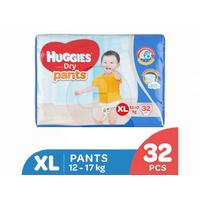 Huggies Dry Pants Popok Celana XL 32