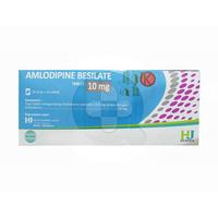 Amlodipine Hexpharm Tablet 10 mg (1 Strip @ 10 Tablet)