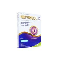 Nephrisol-D Susu Bubuk Rasa Vanilla Box - 185 g