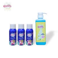 Ikyusan Disinfektant 100 ml (3 Pcs) + Ikyusan Hand Sanitizer 450 ml (1 Pc)