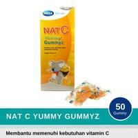 Nat C Yummy Gummyz (25 Sachet @ 2 Gummy)