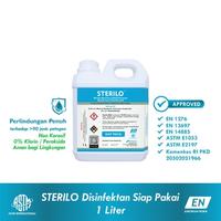 Sterilo Disinfektan 1 Liter Siap Pakai - Broad Spectrum Multi-purpose Surface Disinfectant